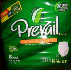 Prevail Extra Underwear